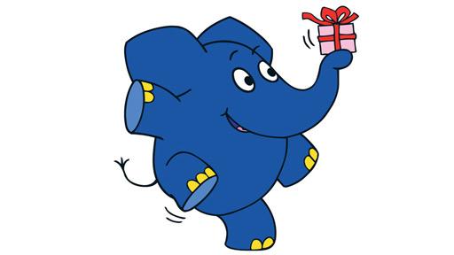 40 jahre kleiner blauer elefant die welt elefantastischer machen wdr presselounge. Black Bedroom Furniture Sets. Home Design Ideas