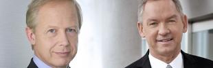 Die Intendanten von NDR und WDR, Lutz Marmor und Tom Buhrow