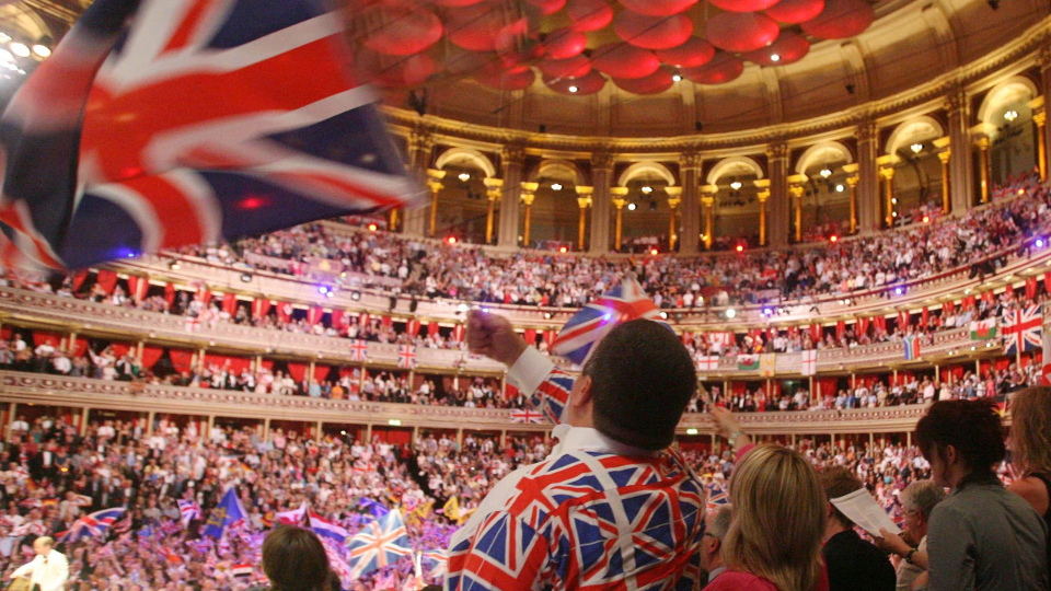 BBC Last Night of the Proms in der Royal Albert Hall in London