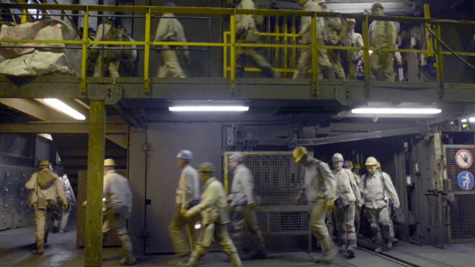 Die Arbeiter auf Prosper Haniel
