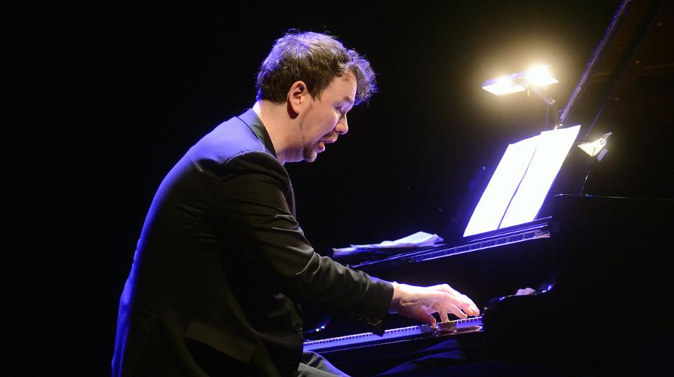 Florian Weber am Klavier