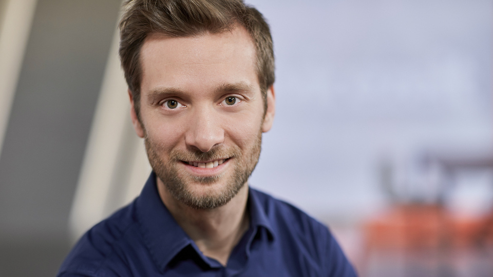 Moderator Daniel Aßmann