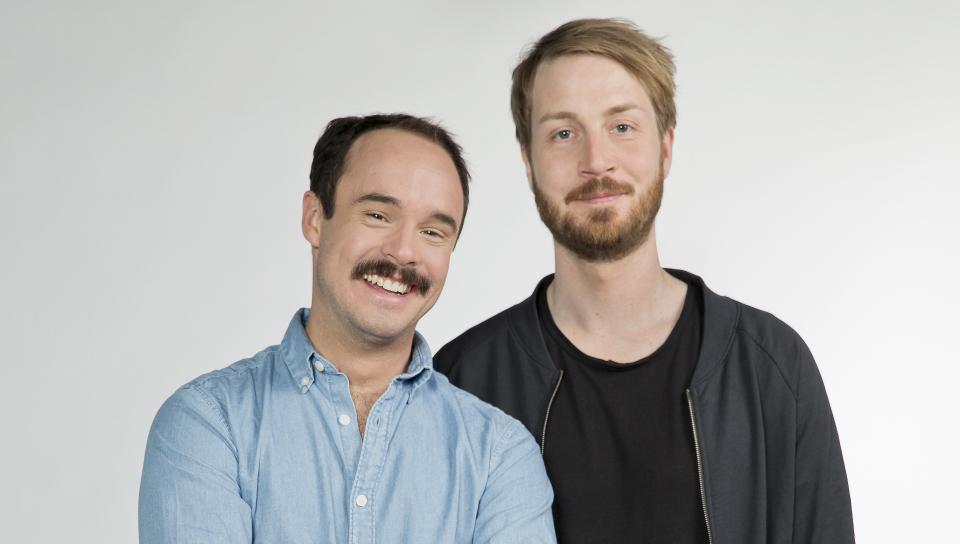 Matthias Kammel und Ron Kühler (Moderatoren)