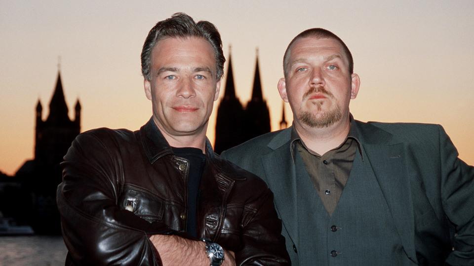 Max Ballauf und Freddy Schenk (Klaus J. Behrendt und Dietmar Bär, r).
