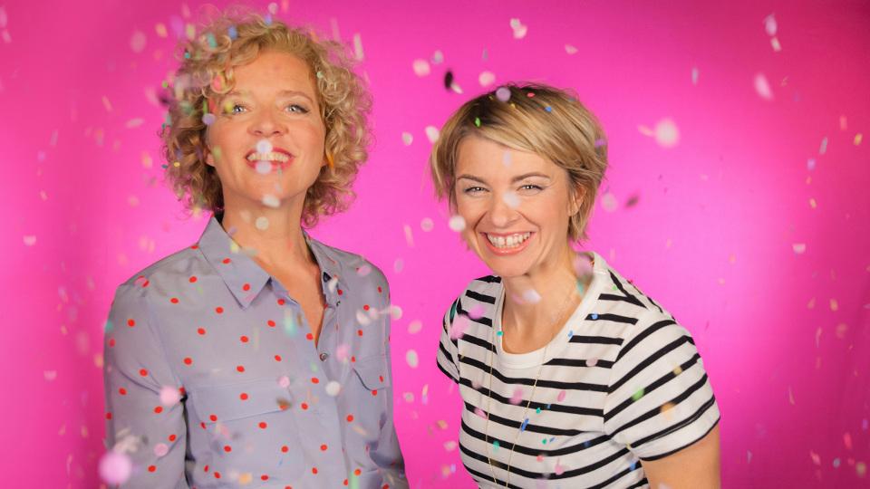Lisa Ortgies und Sabine Heinrich (r)