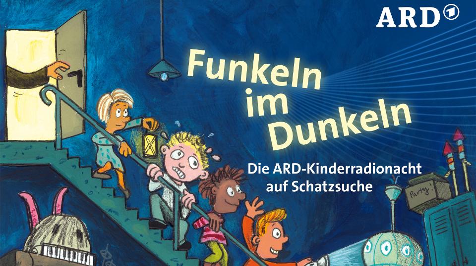 Plakat der Kinderradionacht