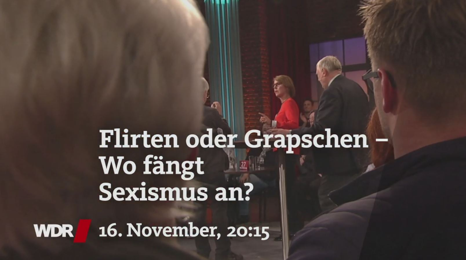 "Screenshot - Sendung ""Ihre Meinung"""