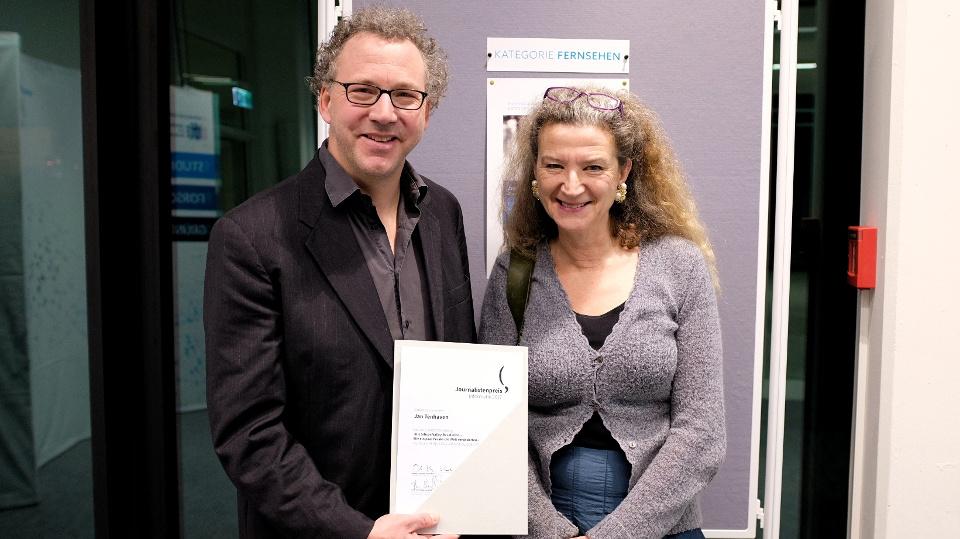 Jan Tenhaven und Gudrun Wolter