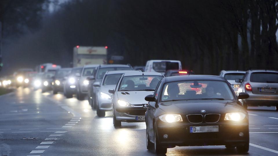 Autos im Straßenverkehr