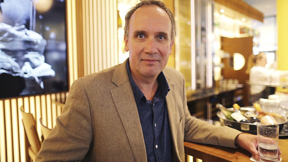 Volker Kutscher im Kölner Funkhaus-Café