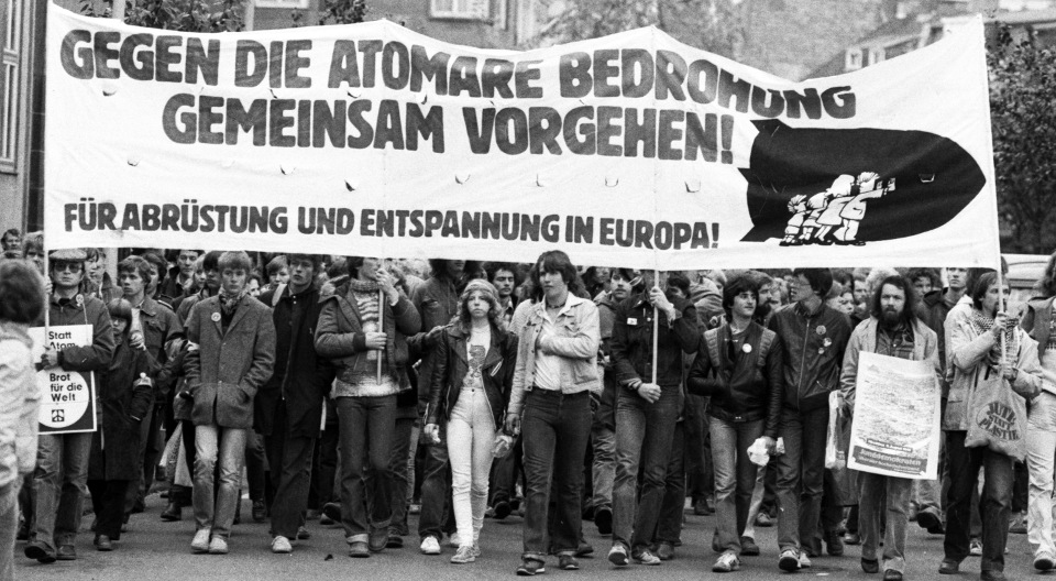 Friedensdemonstration in Bonn am 10. Oktober 1981