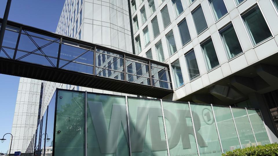 WDR Logo Gebäude