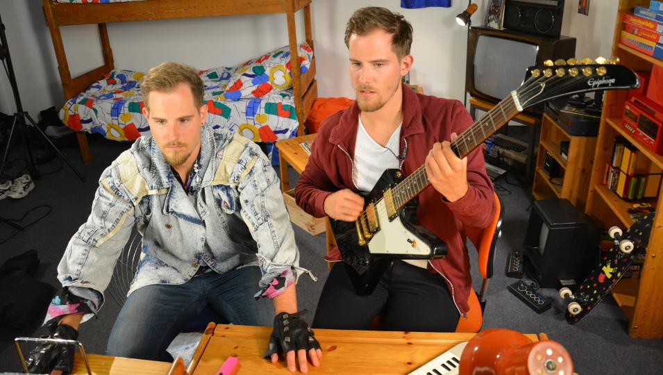Zwillinge Dennis und Benni Wolter