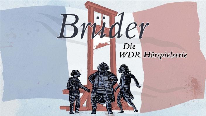 """Illustration zum Hörspiel """"Brüder"""""""