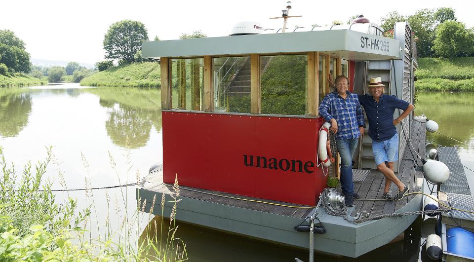 Lecker An Bord Hausboot
