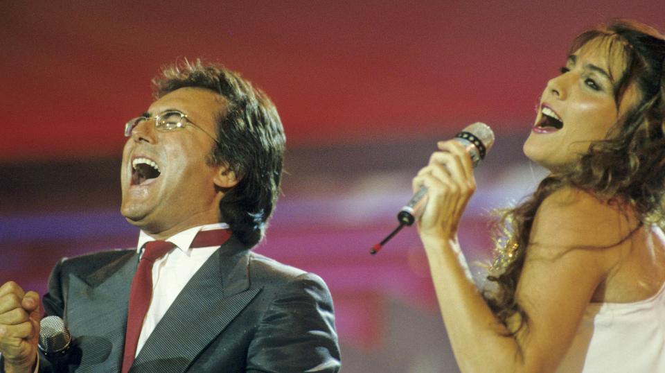 """Das Duo """"Albano & Romina Power"""""""