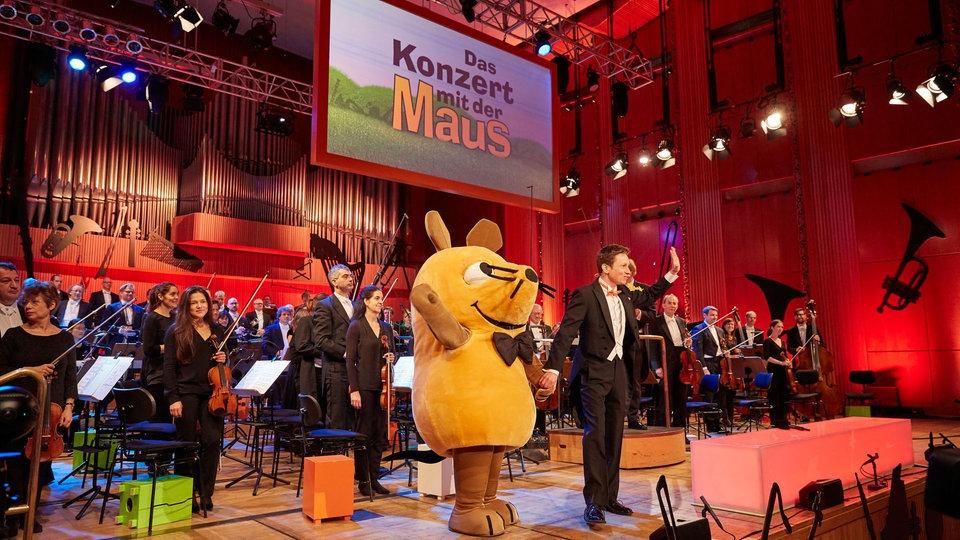 Konzert mit der Maus und Johannes Büchs.