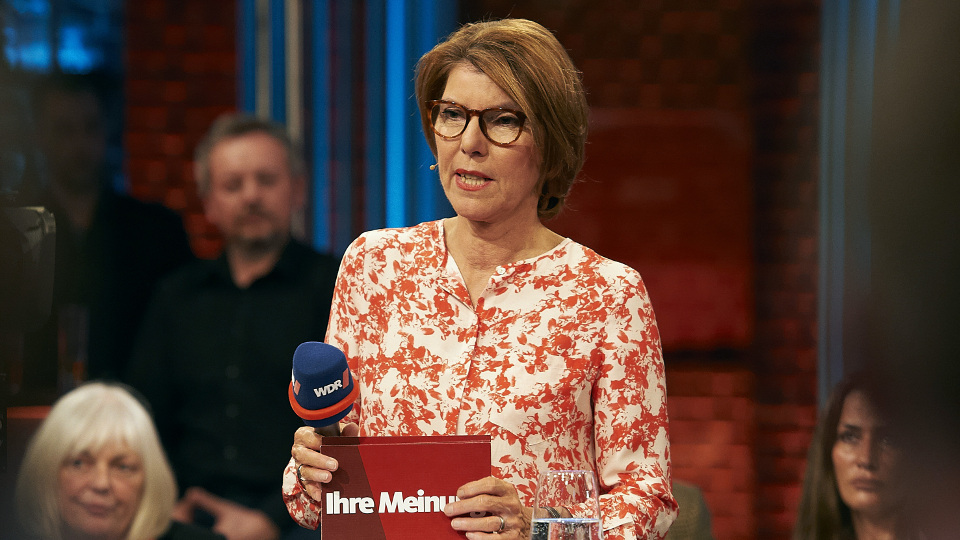 Moderatorin Bettina Böttinger