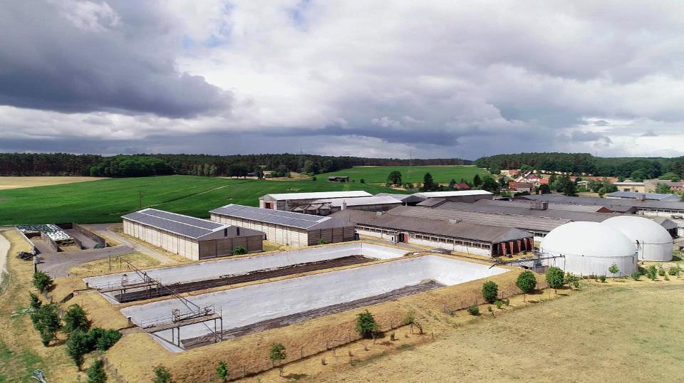 Landwirtschaft in Ostdeutschland.