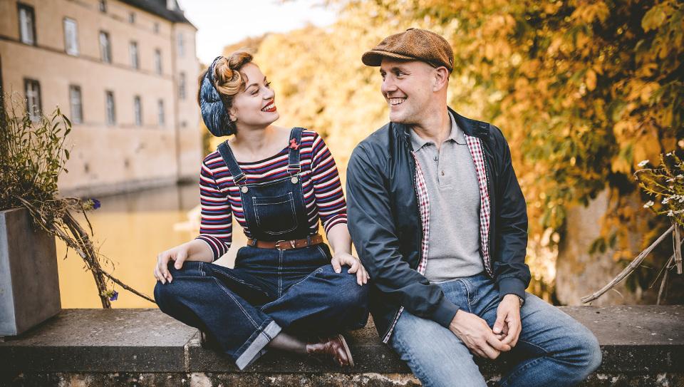 Oliver Petszokat (Oli P.) und Victoria Beyer
