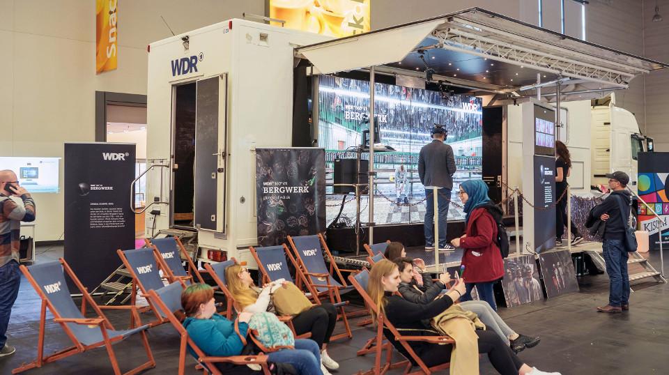 VR-Truck des WDR