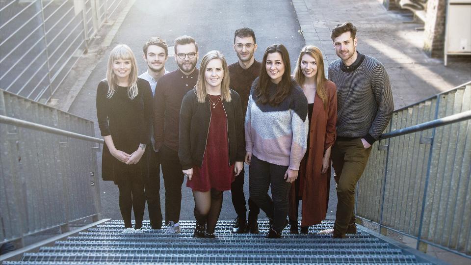 Gruppenbild reporter team