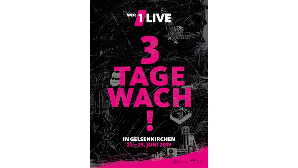 1Live / Drei Tage wach / Visual