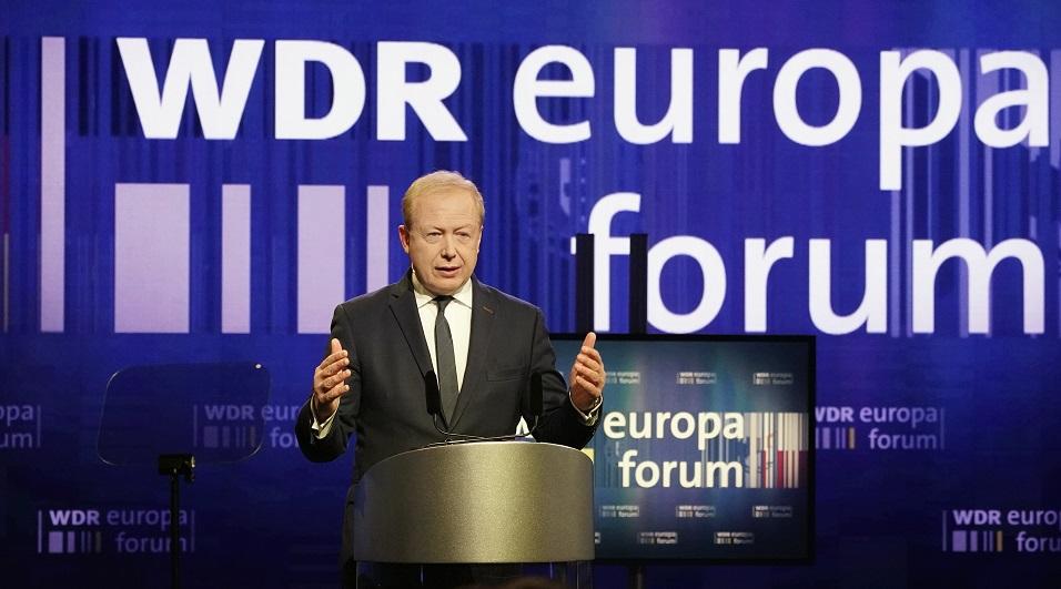 Tom Buhrow beim Europaforum 2019