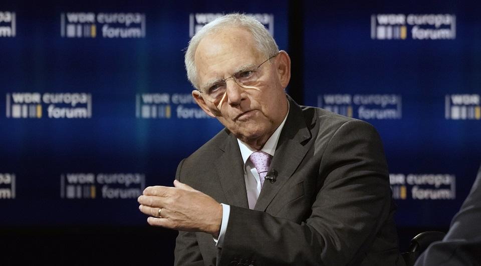 Wolfgang Schäuble (Präsident Deutscher Bundestag, MdB/CDU)