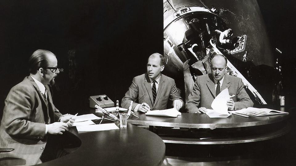 v.l.: Anatol Johansen, Hans Heine und Günther Siefarth