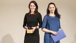 Nicole Rosenbach (l) und Naima El Moussaoui (r)